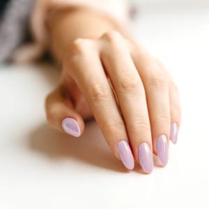 Гель-лак для ногтей Дега - пример маникюра