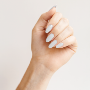 Гель-лак для ногтей Микеланджело - пример маникюра