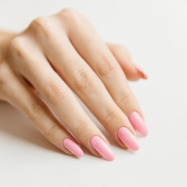 Гель-лак для ногтей Серебрякова - пример маникюра